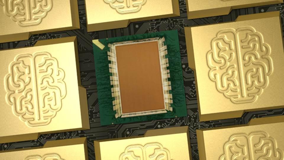 IBM Synapse čip.