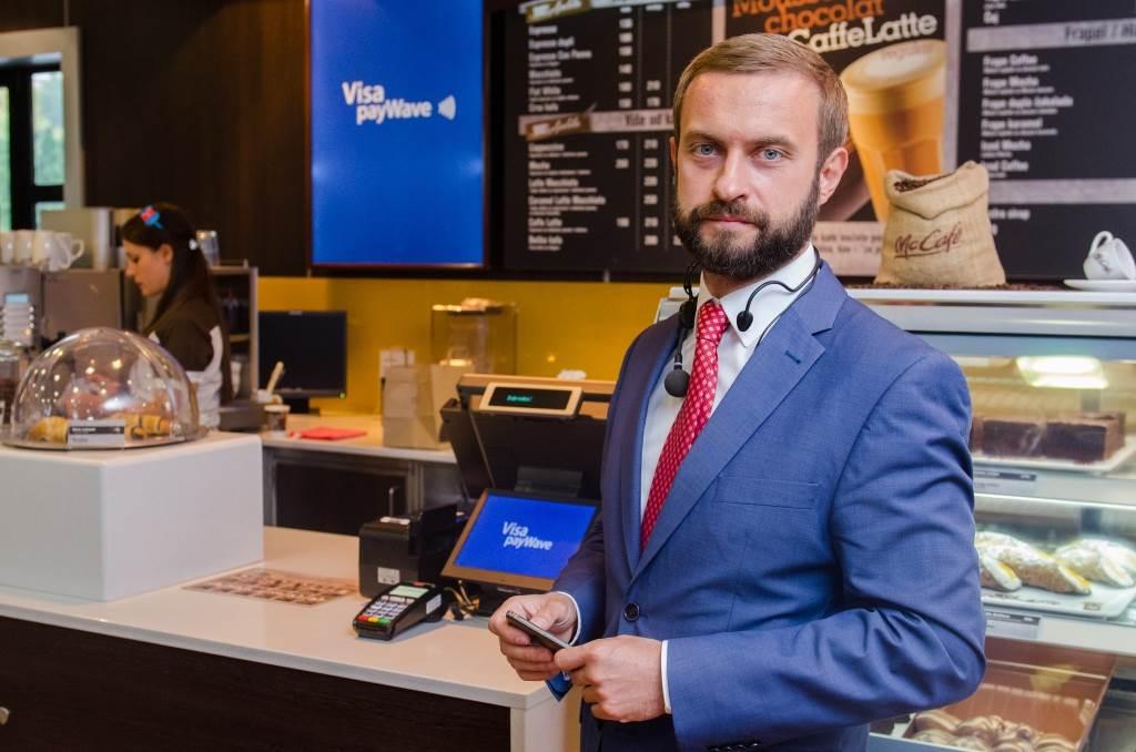Andriy Shcherbina, direktor razvoja novih proizvoda i inovacija kompanije Visa za CIS i SEE region.