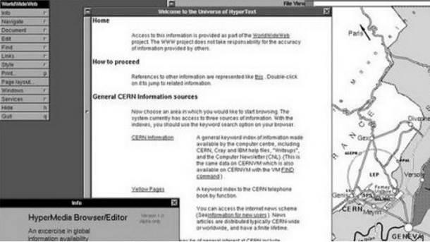 Prvi veb-sajt na svetu