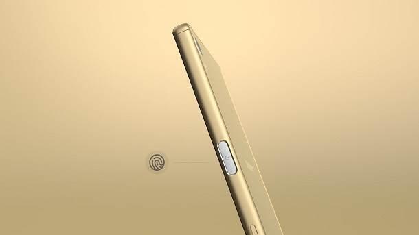 Sony Xperia Z5 fingerprint sensor