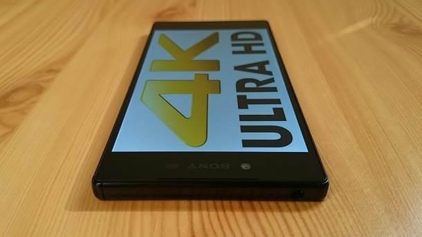 Xperia Z5 Premium 4K ekran