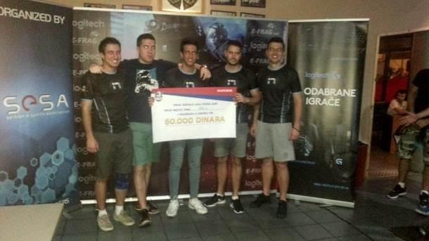 iNation Srbija predstavnik na CS:GO IeSF.