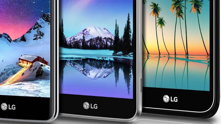 LG K Serija CES 2017 LG K10, LG K8, LG K4, LG K3