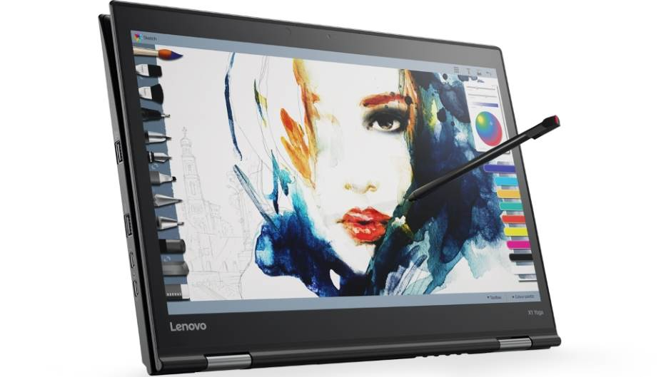 Lenovo ThinkPad X1 Yoga Carbon, CES 2017.