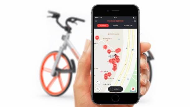 Mobike aplikacija za lociranje i pronalaženje bicikla.