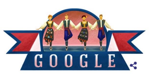 Google, Doodle, Kolo, Srpsko kolo, Dan državnosti, Google Doodle Srbija