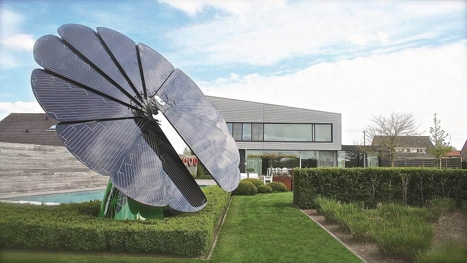 Smartflower, solarni kolektor, sunce, električna energija, gedžeti