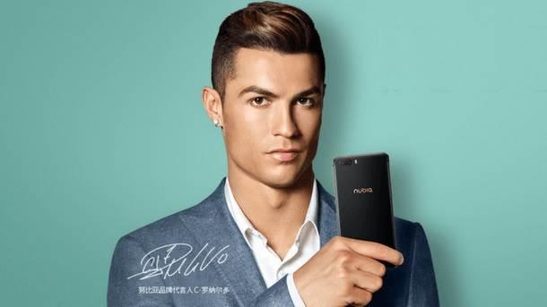 Ronaldo reklamira Nubia M2 smartfon.