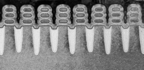 IBM 5 nm proces, tranzistori, čip