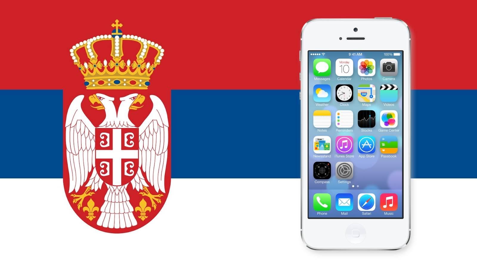 iPhone Srbija, Apple Srbija, iTunes Srbija, AppStore nalog Srbija, iPhone nalog Srbija