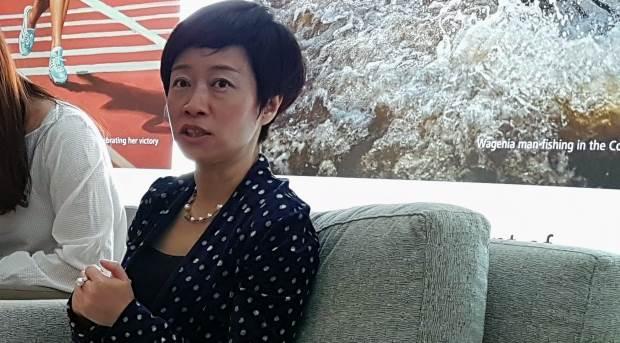 Predsednica korporativnih komunikacija i potpredsednica kompanije Huawei, Čen Lifang.