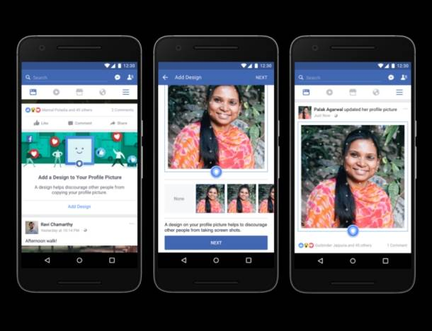 facebook, zaštita profilne fotografije