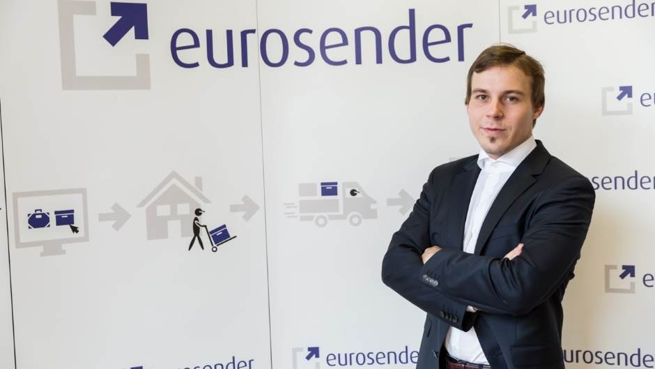 Tim Potočnik, Eurosender.
