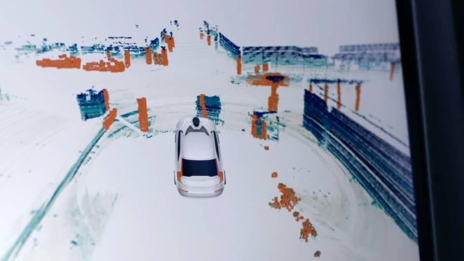 Uber, volvo, automobili, autonomno