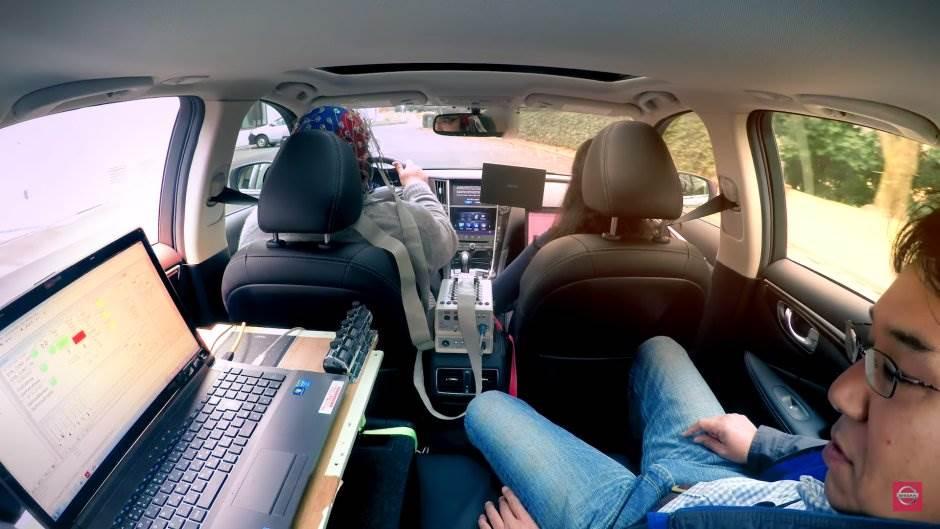 nisan, mozak, skeniranje, vožnja, automobili