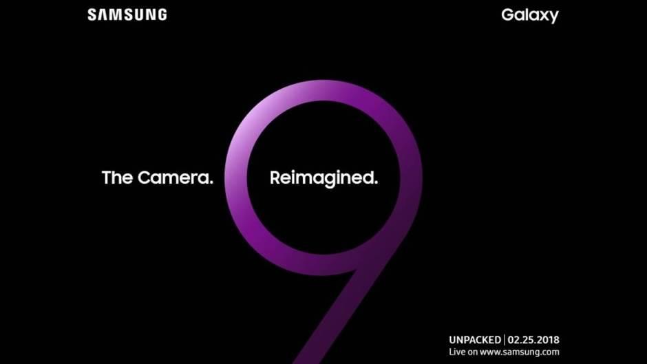 Samsung Unpacked MWC 2018.