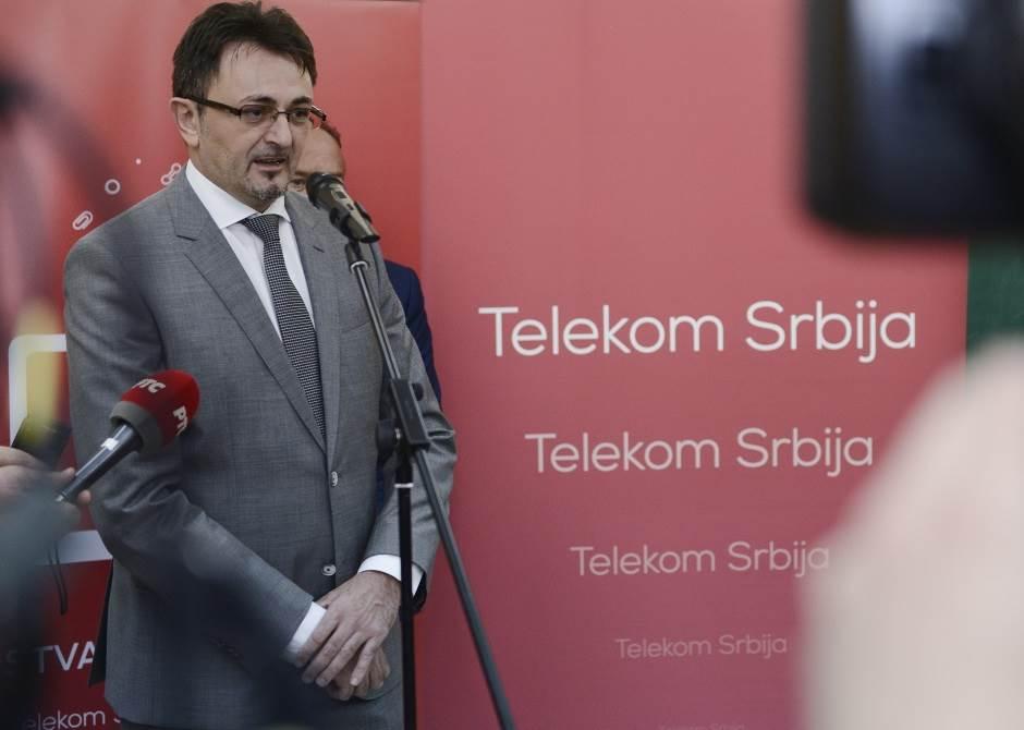 Predrag Ćulibrk, Telekom Srbija