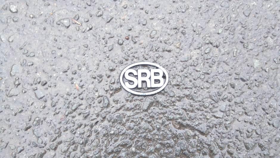 Srbija, oznaka za Srbiju, registarska tablica, SRB