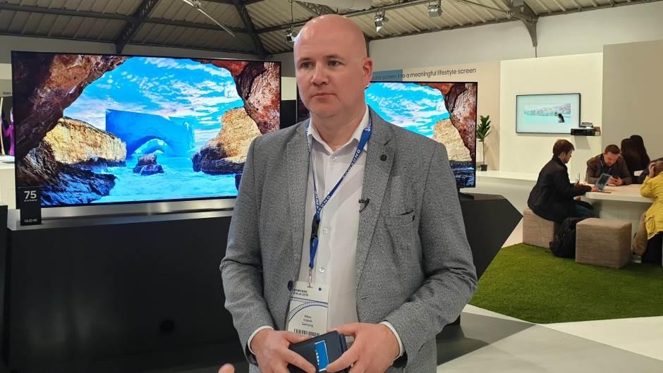 Milan Vujović, direktor marketinga Samsung kompanije za Srbiju i region.