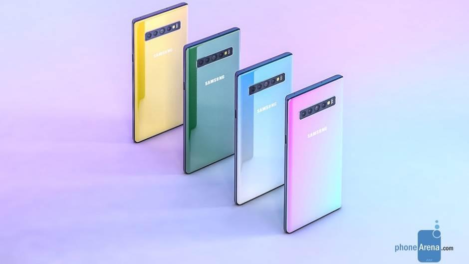 Samsung Galaxy Note 10 - preliminarni render PhoneArena sajta.