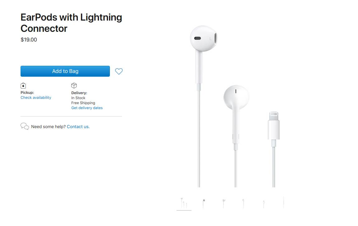 Cena EarPods slušalica (MobIT)
