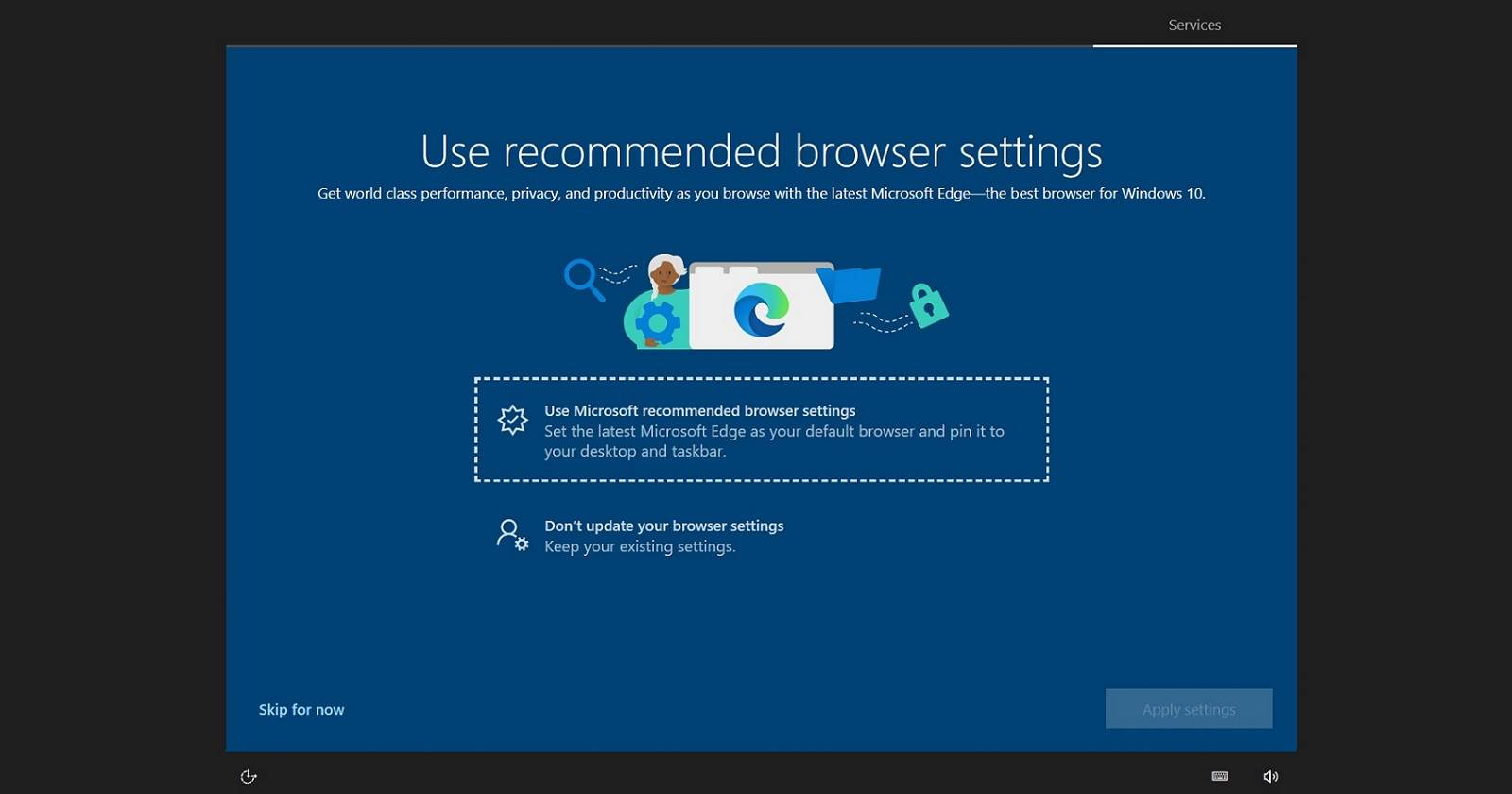 microsoft edge windows 10 ads reklama