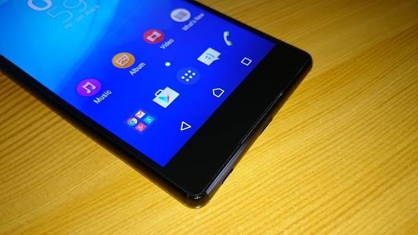 Xperia Z3+ ekran