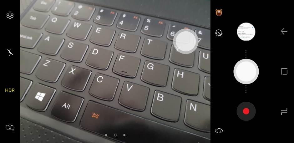 Kamera-taster na S8 je plutajući - možete ga pomeriti gde vam je volja!