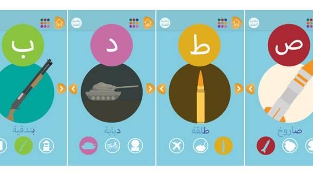 ISIS alphabet app