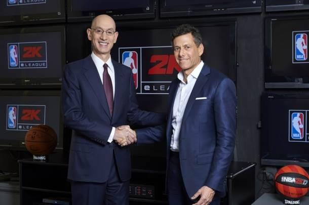 NBA, Take-Two Interactive, NBA 2k, eSports, liga, video igre