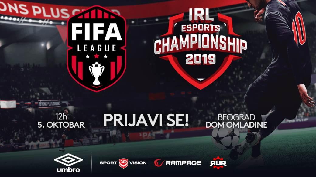 FIFA 19 turnir 5. oktobar IeSF kvalifikacije, FIFA turnir Srbija, FIFA 19 turnir Srbija nagrade