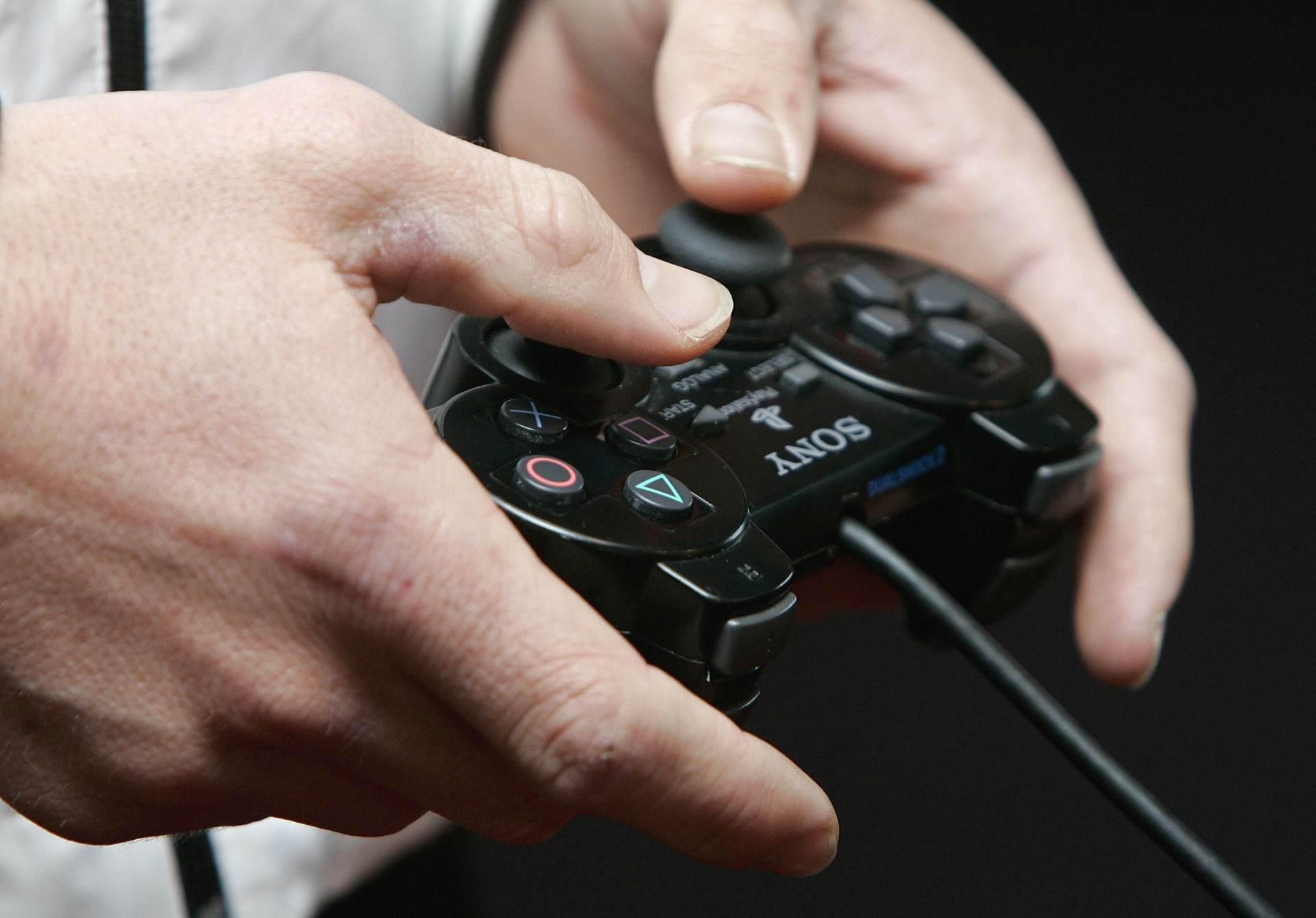 džojstik, video igre