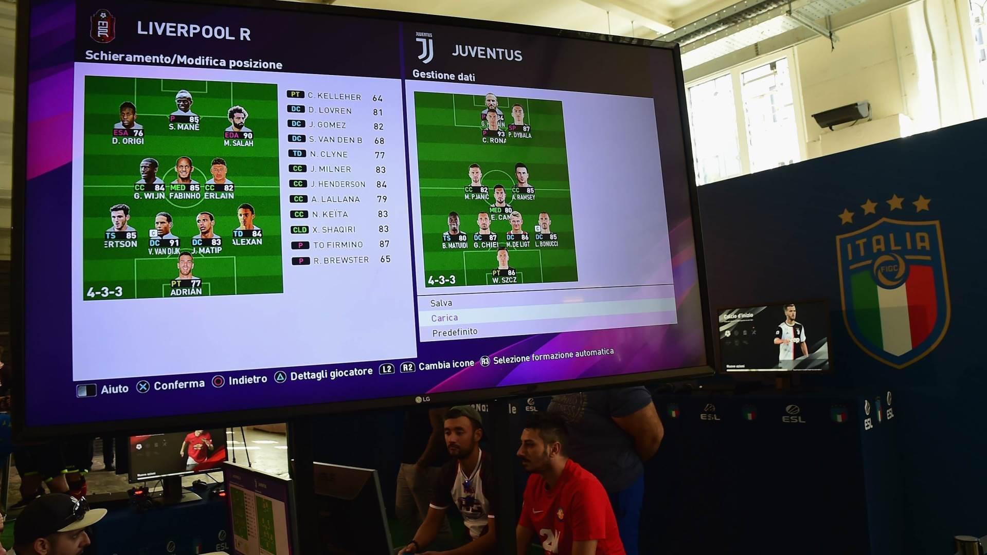 Liverpul, Juventus