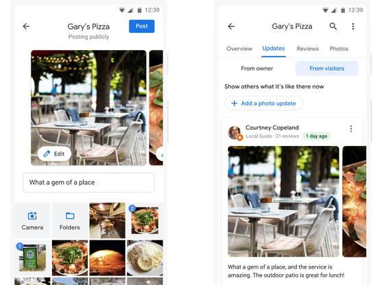 Nova Photo update opcija za Google Maps