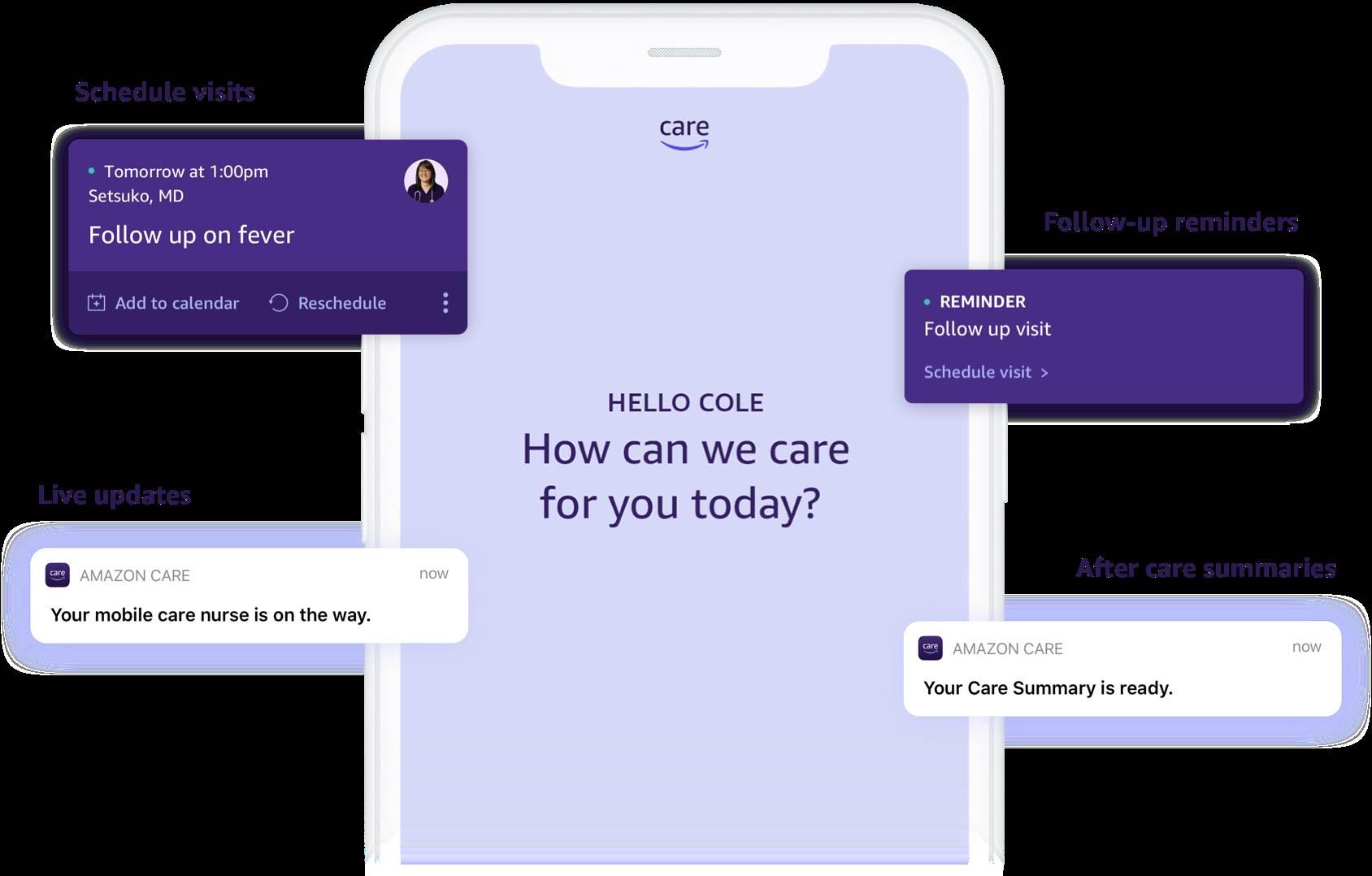 Amazon Care aplikacija