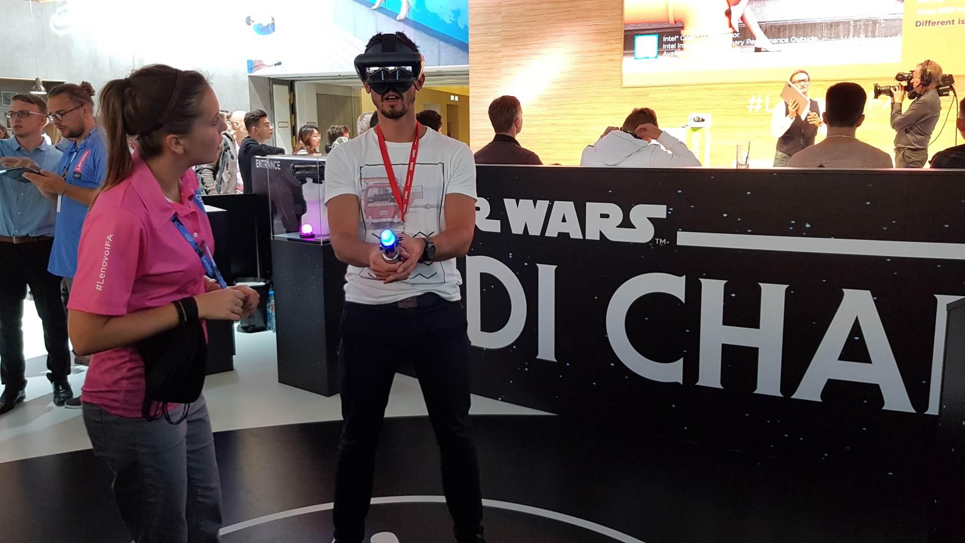 Star Wars Jedi Challenge MWC 2017