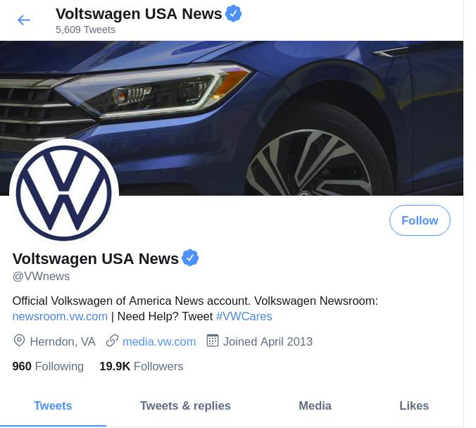 voltswagen volkswagen automobili twitter laž prevara