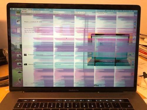 MacBook Pro problem sa ekranom