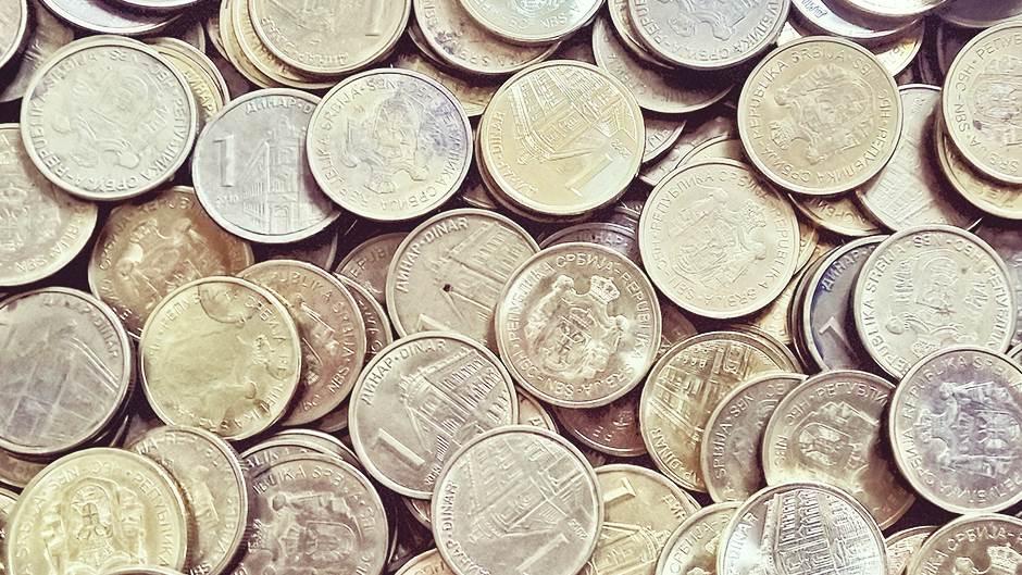 Novčići, Dinari, Kovanice, Metal
