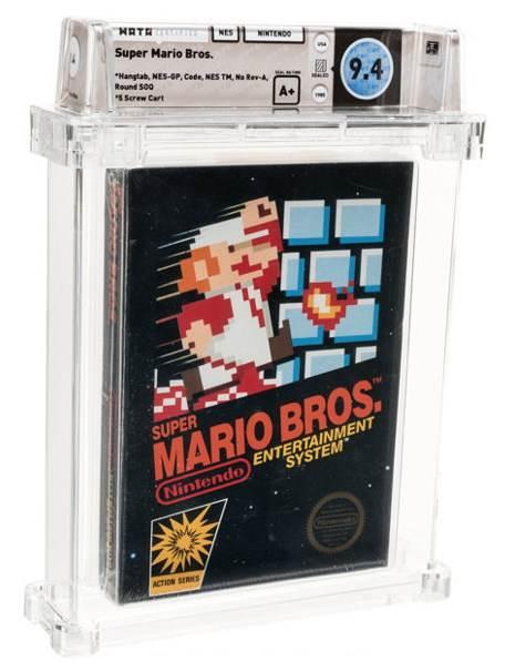 Super Mario Bros 114.000 dolara
