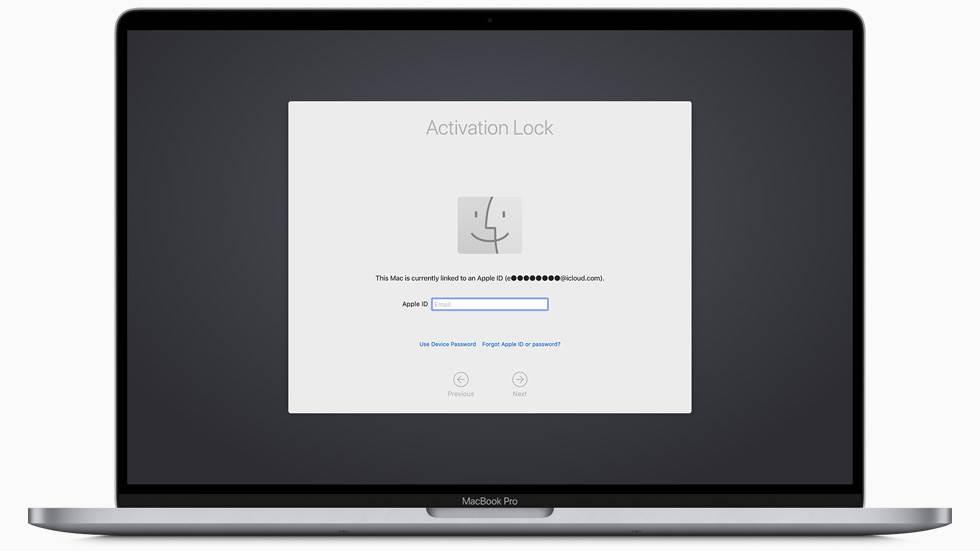 Zaključavanje MacBook računara na daljinu
