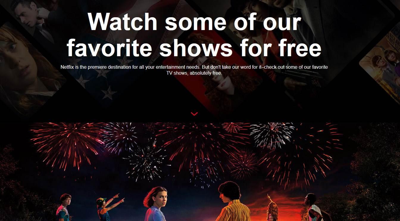 Besplatne Netflix serije i filmovi