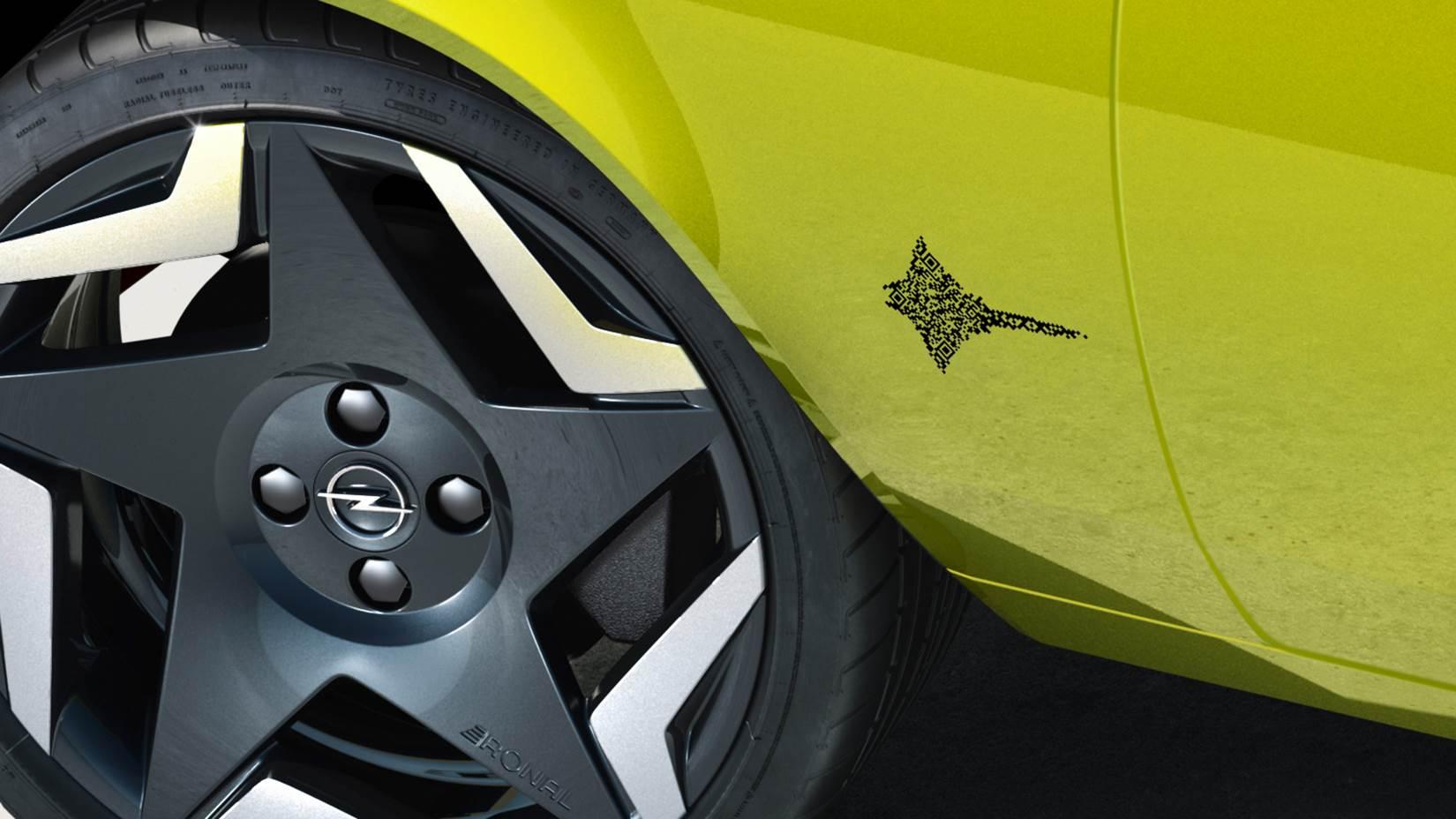 Opel Manta GSe ElektroMOD logo