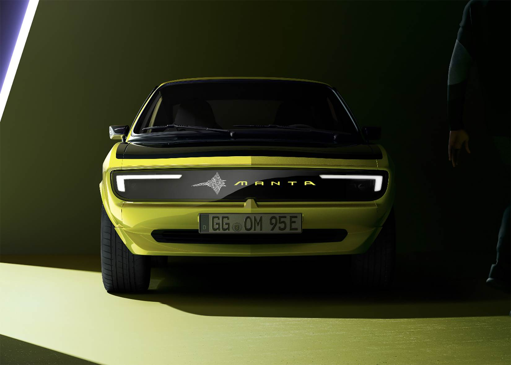 Opel Manta A ElektroMOD rešetka prednje maske