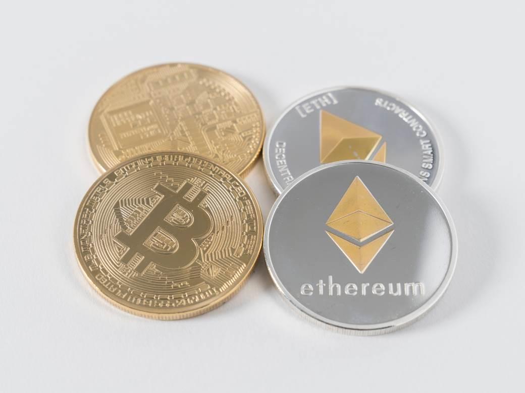 Ethereum i Bitcoin kriptovalute