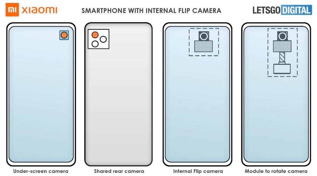 xiaomi flip camera kamera modul novi dizajn telefona