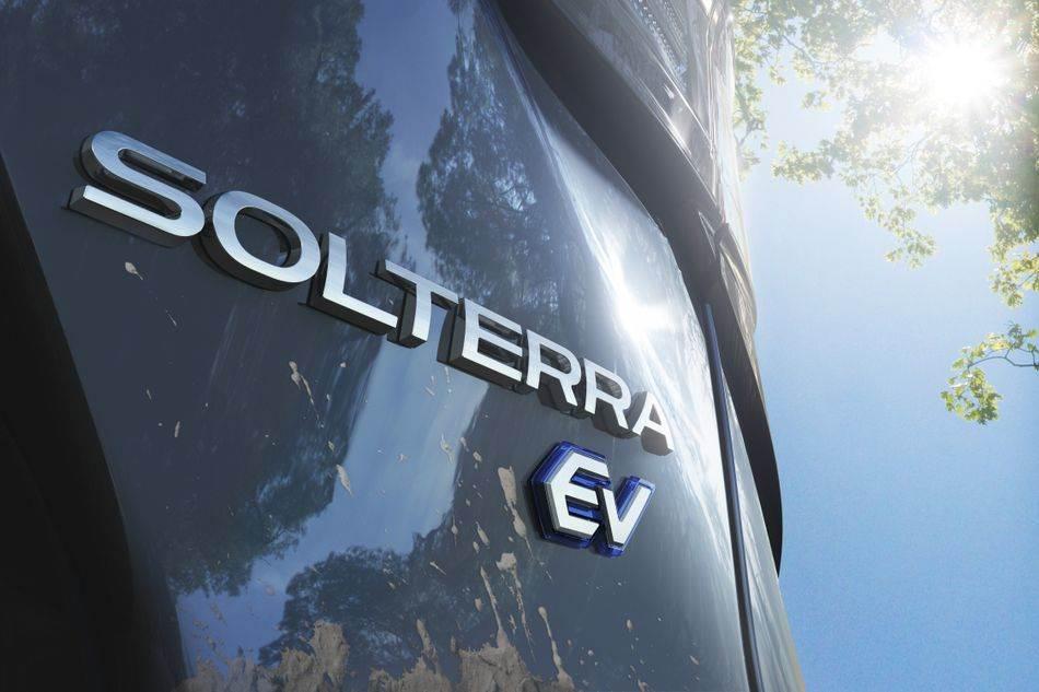 subaru solterra električno vozilo električan automobil crossover