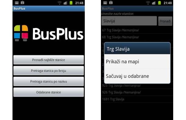 Plus aplikacija iphone bus za iPhone Srbija