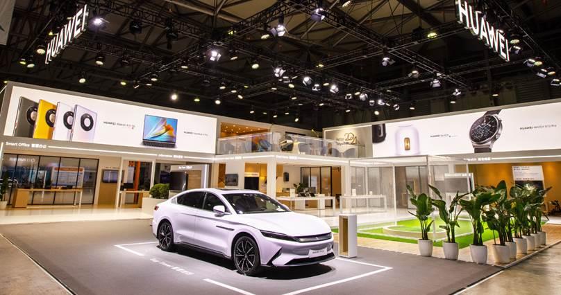 Huawei izložbeni prostor Šangaj 2021
