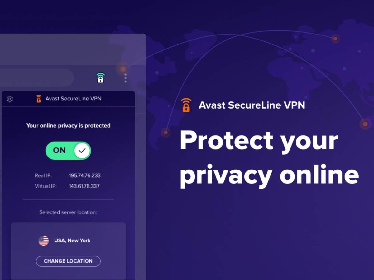 Avast SecureLine besplatan VPN